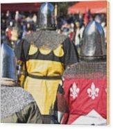 Knight Squad Wood Print