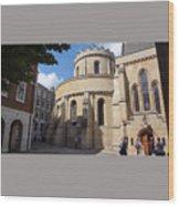 Knights Templar Church- London Wood Print