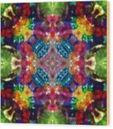 Knots Xvii Wood Print