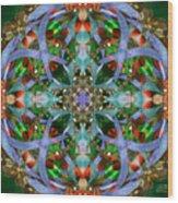Knots Xviii Wood Print