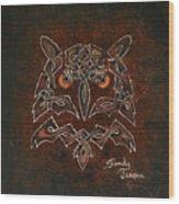 Knotty Owl Wood Print