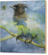 Knowing It Has Wings Wood Print