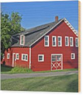 Knox Farm 5138a Wood Print