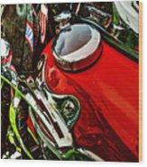 Knucklehead 037 Wood Print