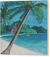Ko Phuket Wood Print