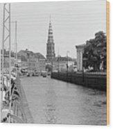 Kobenhavn Kanal Wood Print