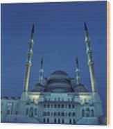 Kocatepe Cami Mosque In Ankara, Turkey Wood Print