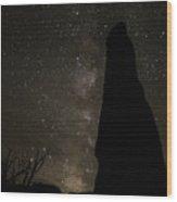 Kodachrome Basin Night Sky 2930 Wood Print
