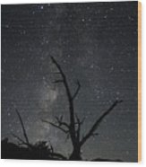 Kodachrome Basin Night Sky 2957 Wood Print