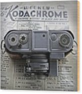 Kodachrome Weekly Wood Print