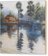 Kodaikanal Lake Wood Print