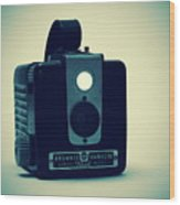 Kodak Brownie Wood Print by Bob Orsillo