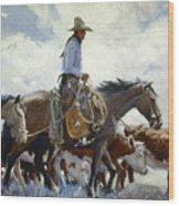 Koerner: Cowboy, 1920 Wood Print
