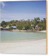 Koh Talu Beach Wood Print