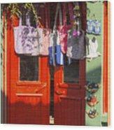 Kokina Red Door Wood Print