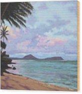 Koko Palms Wood Print