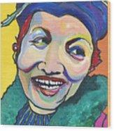 Koko Vivienne Wood Print