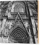 Koln - Dom Wood Print