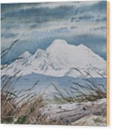 Koma Kulshan Wood Print