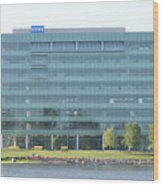 Kone Building Wood Print