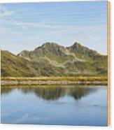 Konigsleiten Mountain Top. Tyrol, Austria Wood Print
