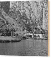Konigssee Lake And Saint Bartoloma 2 Wood Print
