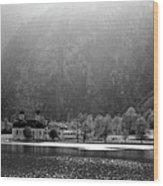 Konigssee Lake And Saint Bartoloma Wood Print