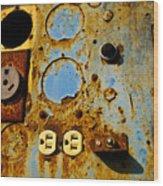 Kontroller Rust And Metal Series Wood Print