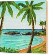 Koolina Lagoon Oahu, Hawaii #343 Wood Print