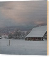 Kootenai Valley Barn Wood Print