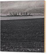 Kootenai Valley Farm Wood Print
