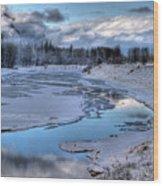 Kootenai Wildlife Refuge 1 Wood Print