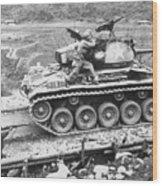 Korean War, 1951 Wood Print