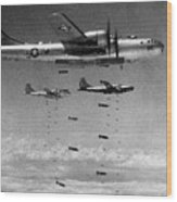 Korean War: B-29 Bombers Wood Print