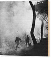 Korean War: Combat, 1951 Wood Print