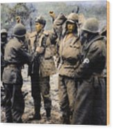 Korean War: Prisoners Wood Print