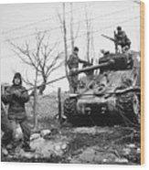 Korean War: Tank, 1951 Wood Print