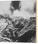 Korean War: Trenches, 1952 Wood Print