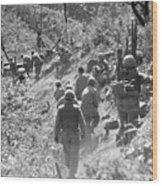 Korean War: Triangle Hill Wood Print