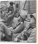 Korean War: U.n. Troops Wood Print
