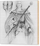 Korranderaythe Von Cristalvasser Wood Print