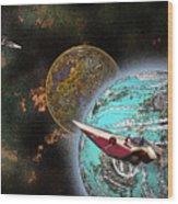 10114 Starfighters Wood Print