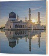 Kota Kinabalu City Mosque II Wood Print