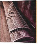 Koto - Japanese Harp Wood Print