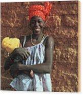 Koundou Gina 1986 Wood Print