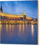 krakow 'IV Wood Print