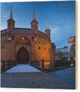 krakow 'IX Wood Print