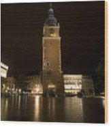 Krakow Town Hall Tower Wood Print