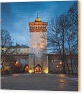 krakow 'X Wood Print