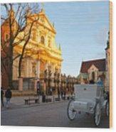 krakow 'XIX Wood Print